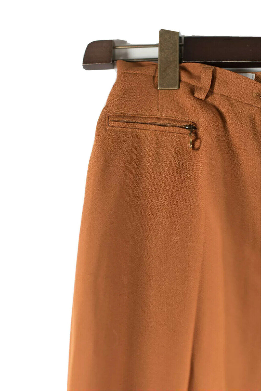 Mondi Womens Size 38 Orange Vintage Pants