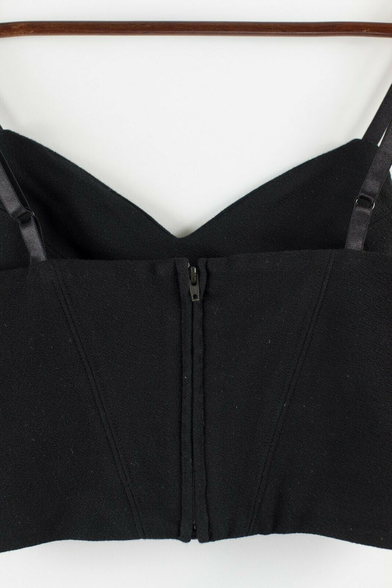 Aritzia Babaton Womens Size Extra Small Black Tank Top Carson Bustier Shirt NWT