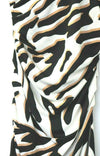 Diane Von Furstenberg DVF Womens Size 4 Small White Black brown Dress Silk Print