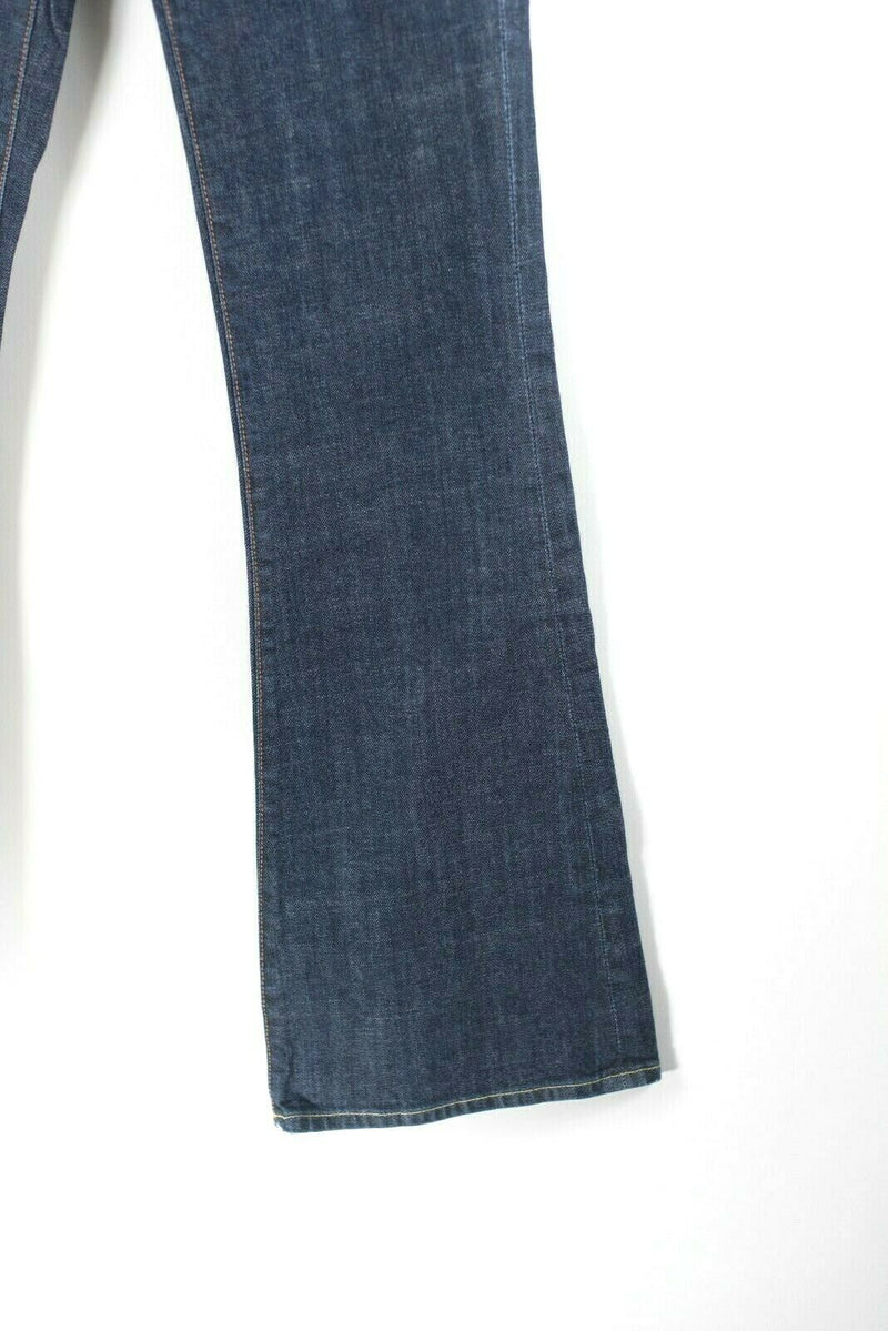 Citizens of Humanity Womens Size 26 Dark Blue Jeans Ingrid 002 Low Waist Flare