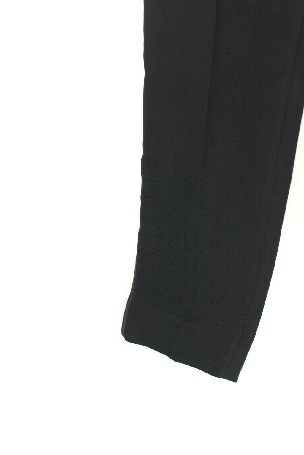 Tory Burch Womens Size 2 Black Pants Crepe Flat Front Wide Leg Pockets Trousers