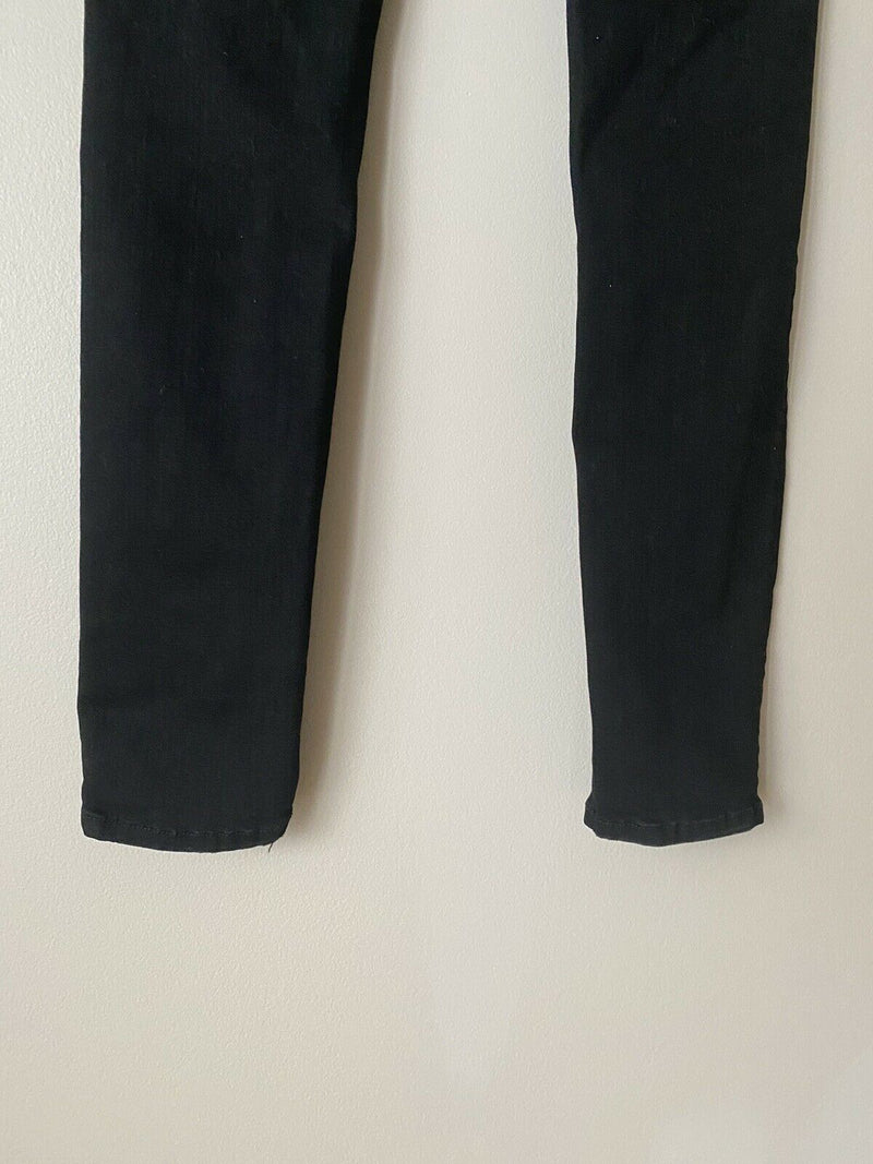 Mother Jeans Women's Size 25 Black High Waisted Looker Not Guilty Skinny Denim
