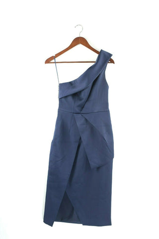 Christy Dawn Womens Size Small Blue Dress The Lennon Dusk Button Down Midi NWT