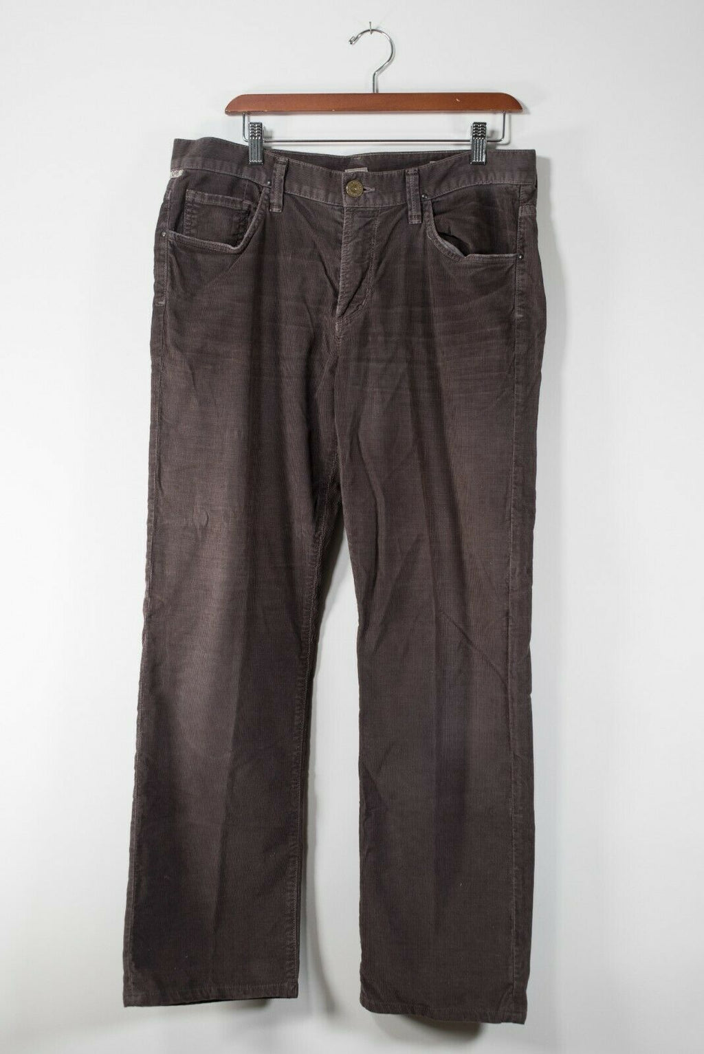 Citizens of Humanity Mens Size 33 Brown Pants Corduroy 5 Pocket Straight Leg