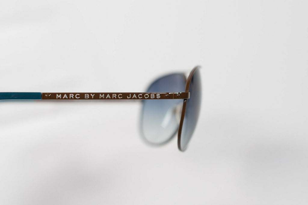 Marc By Marc Jacobs Light Blue Aviator Sunglasses