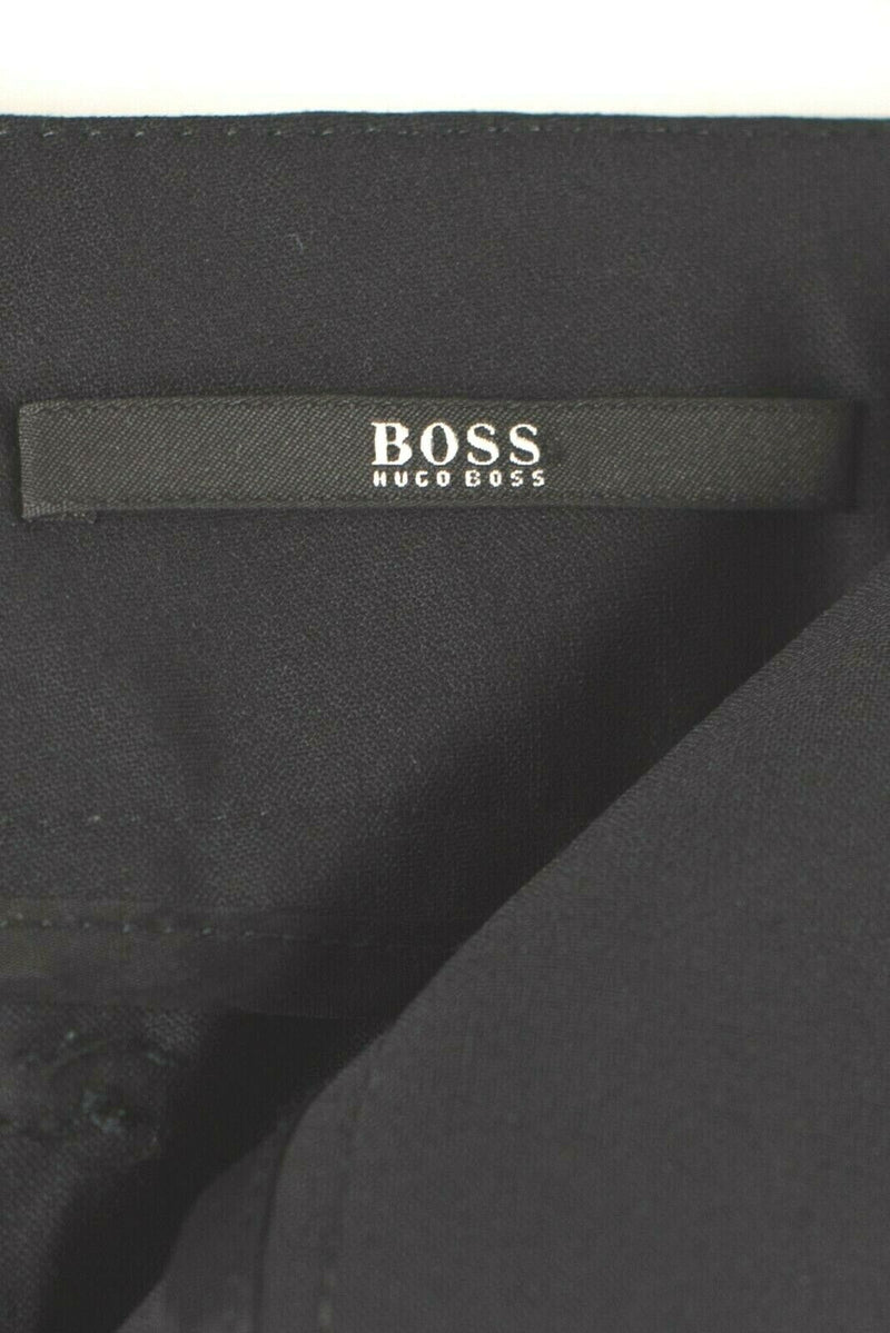 Hugo Boss Womens Size 6 Small Black Suit Pants Trousers Blazer Jacket 2pc Set