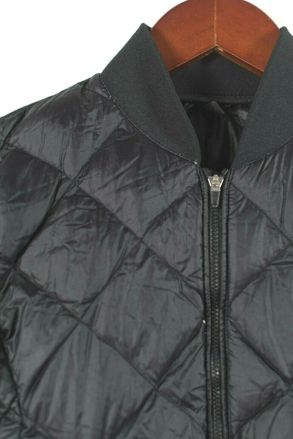 Aritzia TNA Womens Size XXS Black Jacket League Down Quilted Nylon Puffer Jacket
