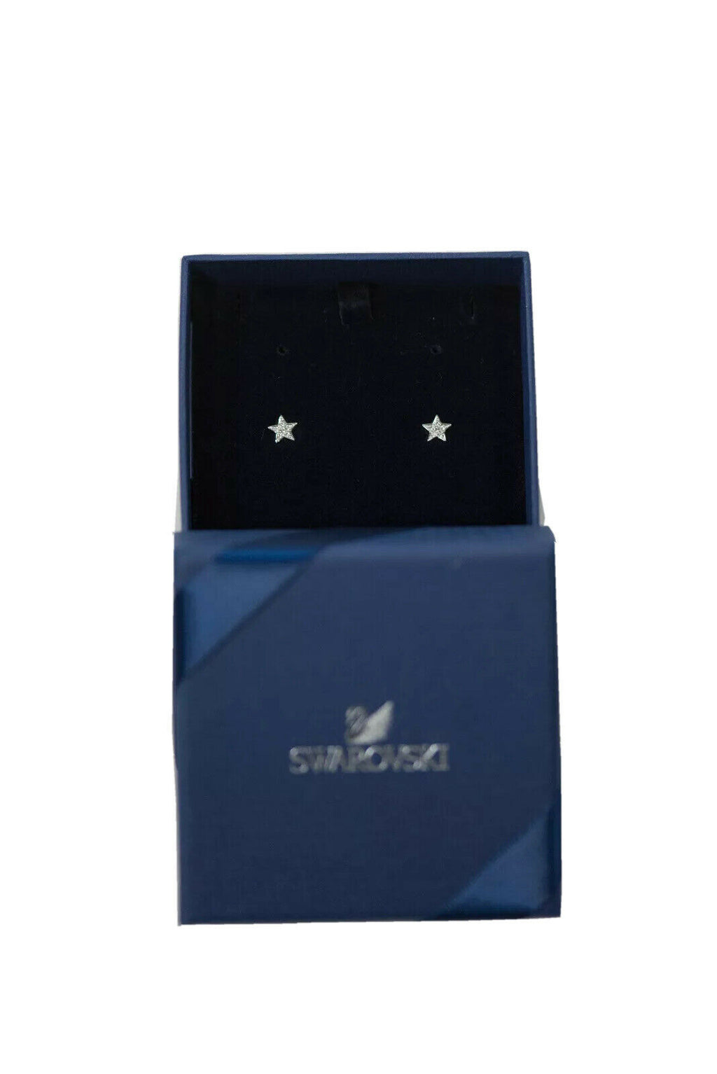 Swarvoski Silver Stud 925 Sterling Star Earrings