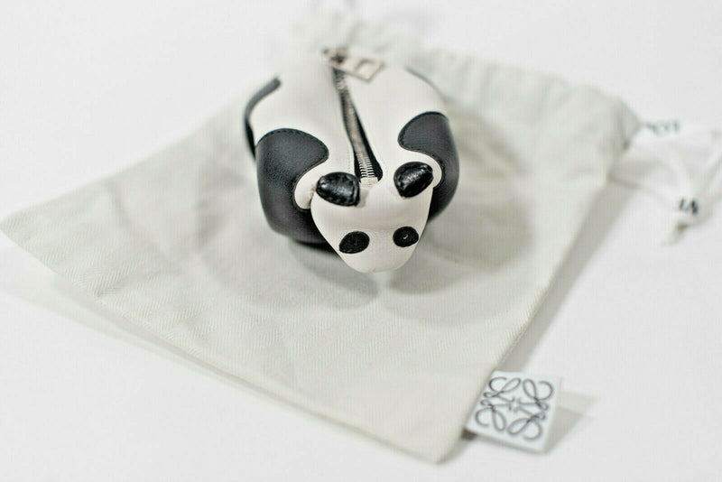 Loewe Black White Panda Coin Purse