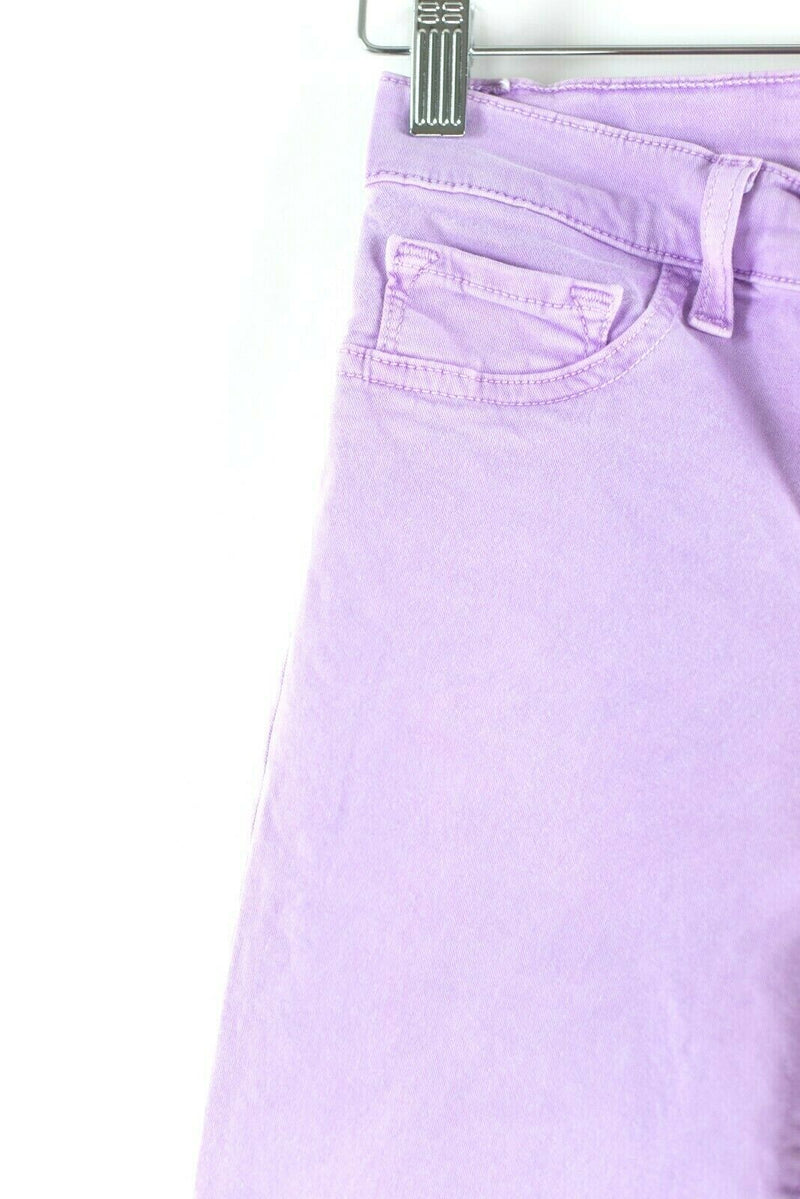 J Brand Womens Size 24 Purple Lilac Jeans Soft Skinny Leg Stretch Mid Rise Pants