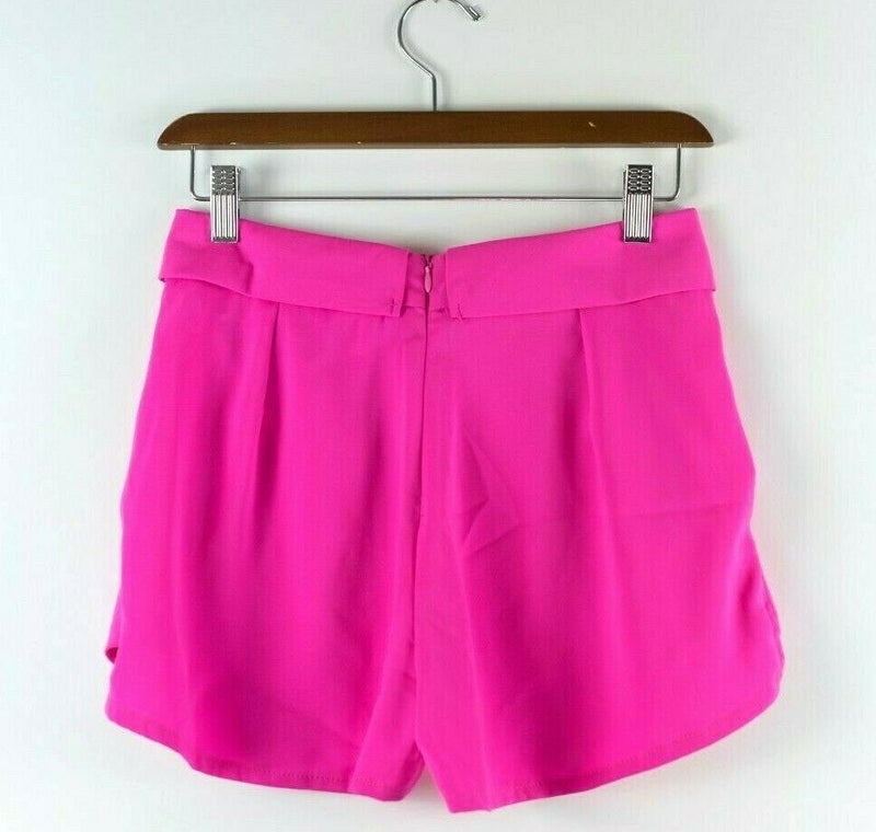 Paper Heart Womens Size 6 Small Pink Shorts Bright Neon Magenta Skort Mini NEW