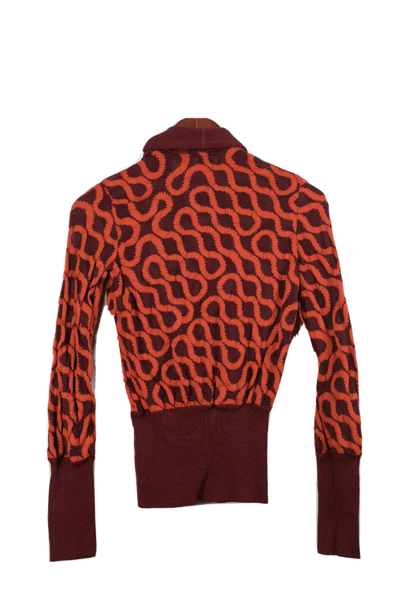 Wolford X Vivienne Westwood Small Red Worlds End Squiggle Shirt