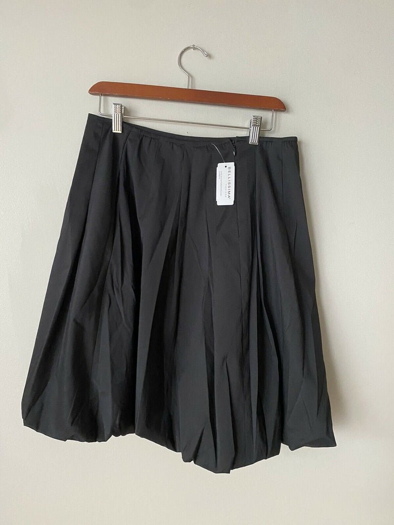 Joseph Ribkoff Women's Size 10 Medium Black Skirt Knee Length Nylon Back Zip NWT