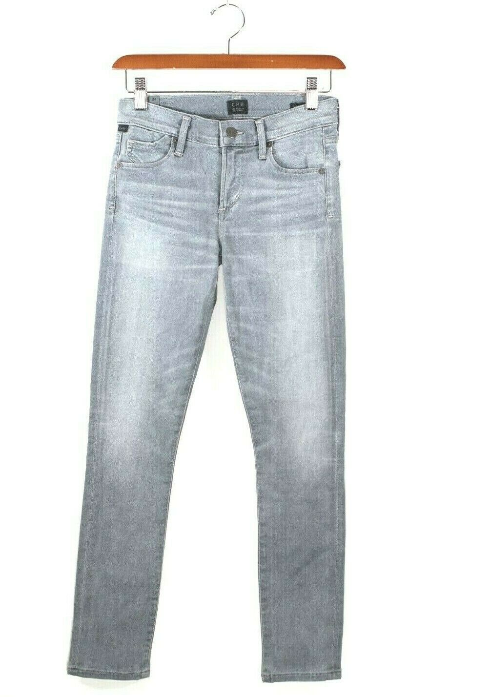 Citizens of Humanity Womens Size 24 Gray Denim Avedon Ankle Jeans Skinny NWT