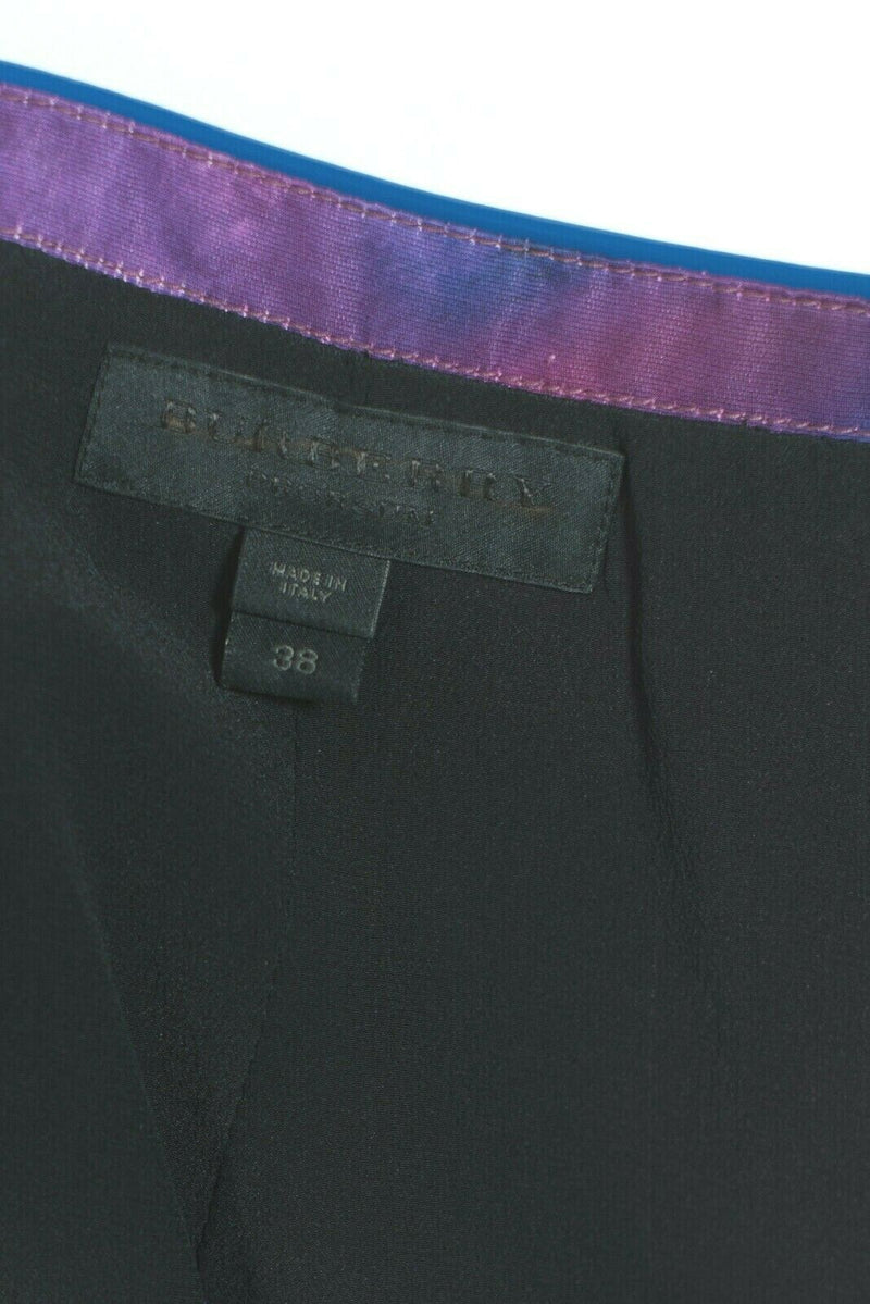 Burberry Porsum Size 38 Pink Purple Pencil Skirt