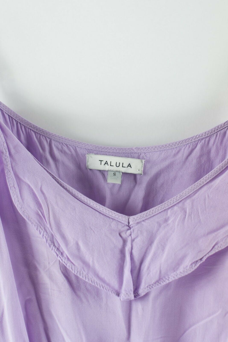 Talula Aritzia Womens Size Small Lavender Purple Dress Sleeveless Mini Slip