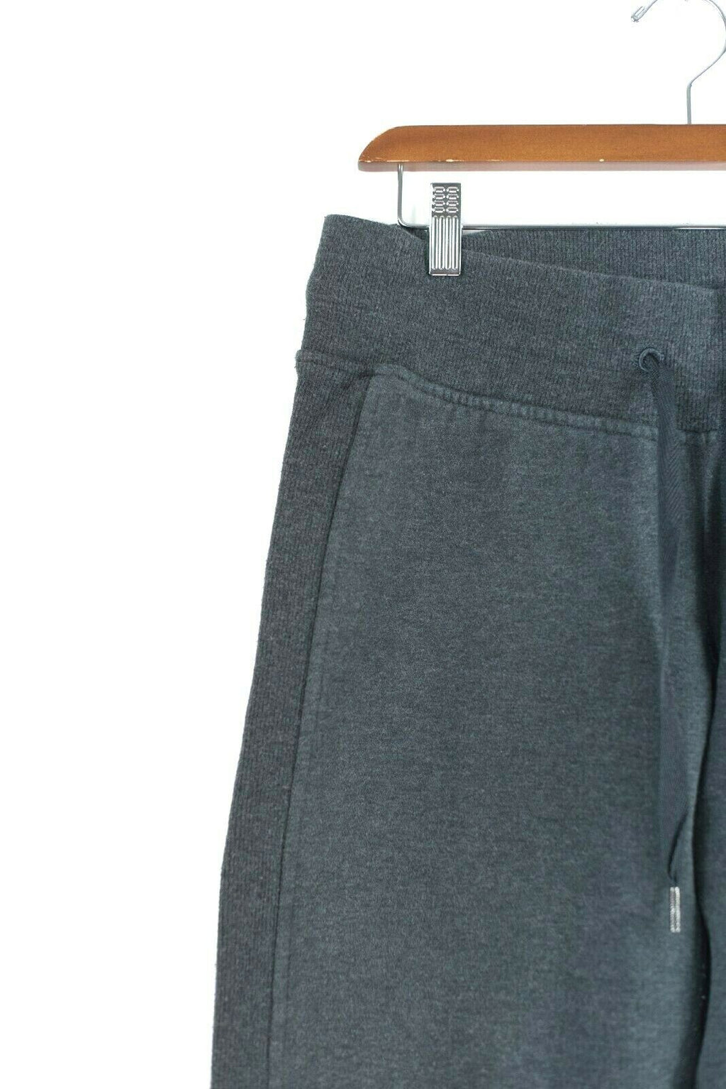 Lululemon Athletica Womens 8 Medium Grey Yoga Pants Thick Sweatpants Joggers