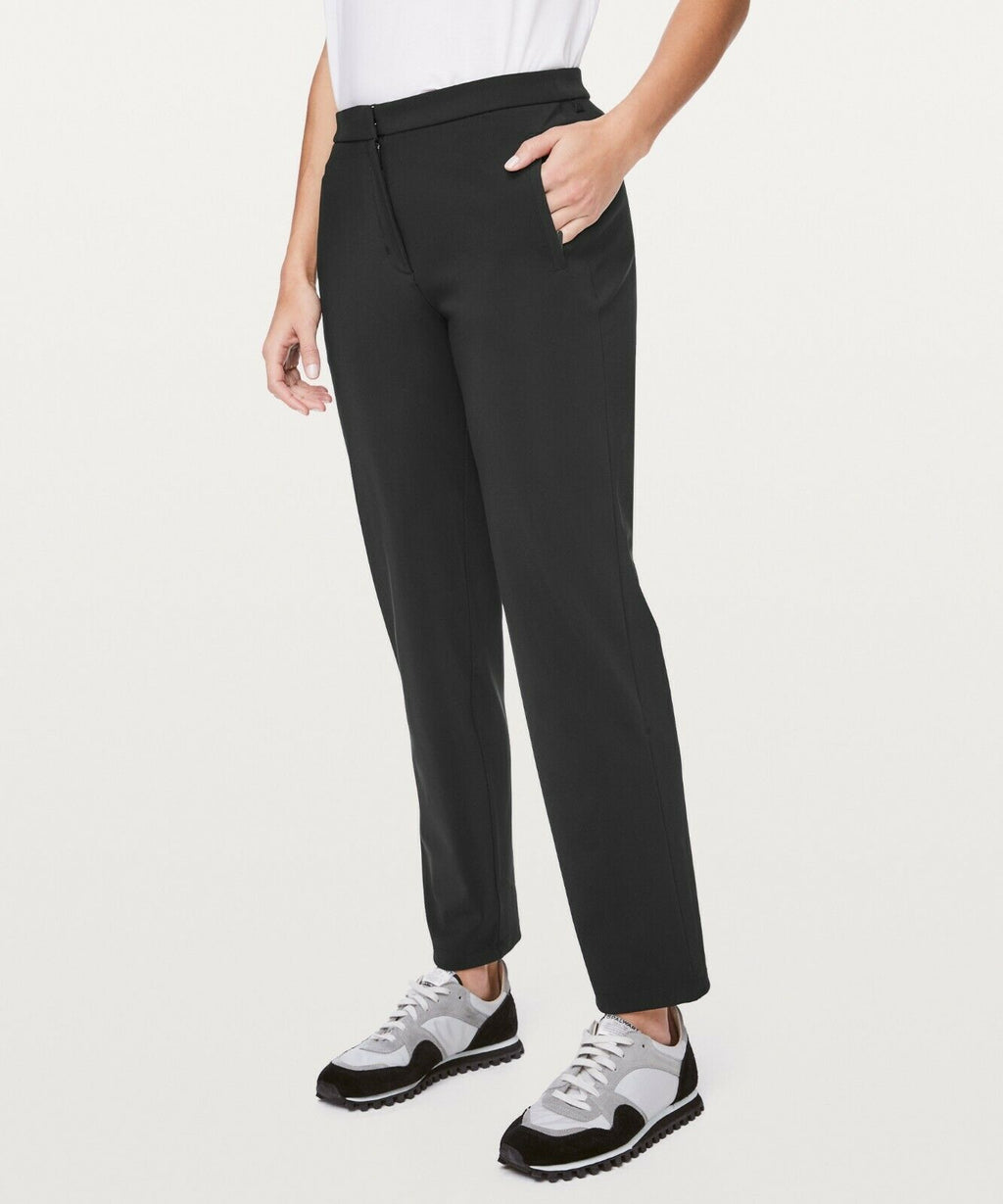 Lululemon Size 8 Black On The Move Pant