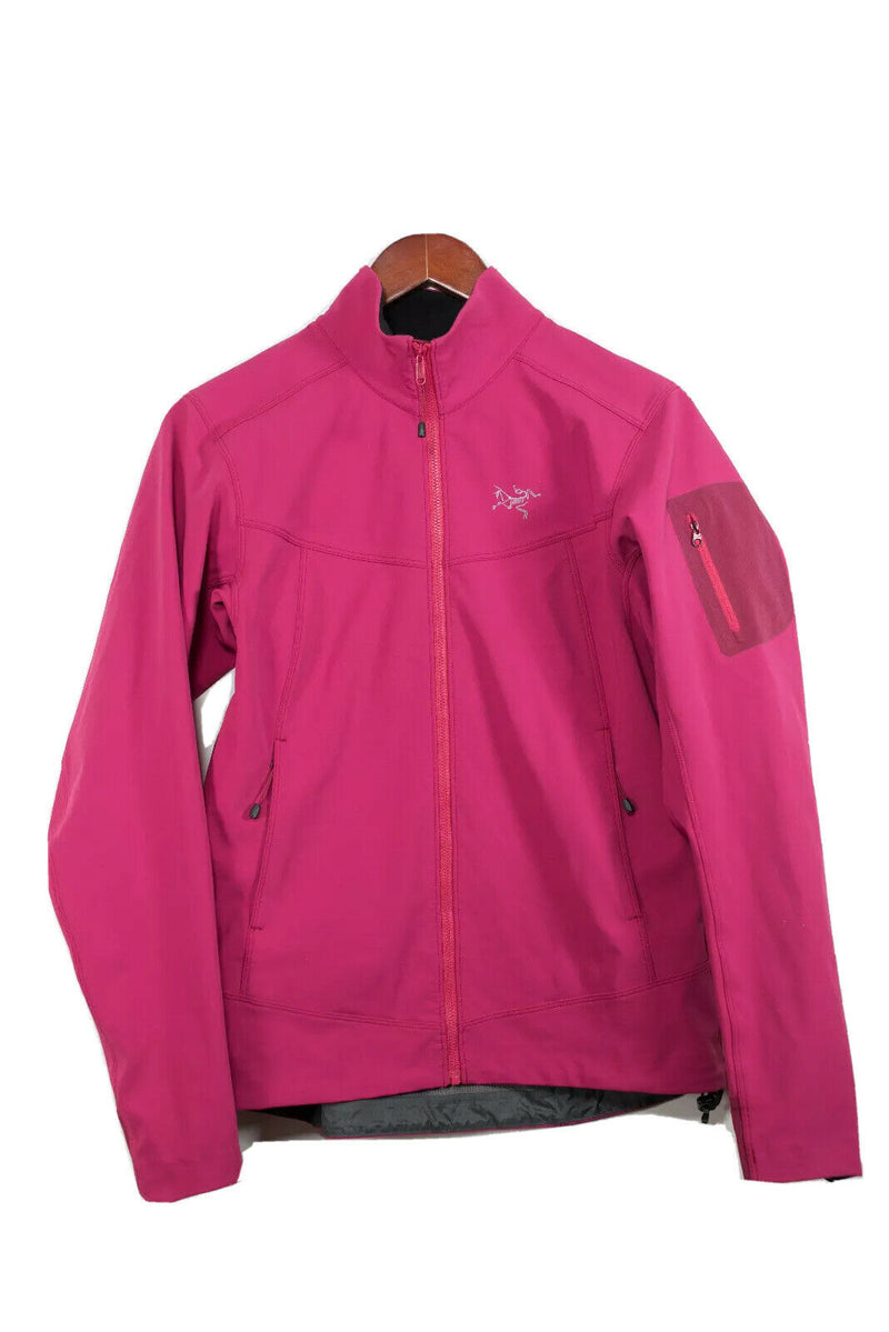 Arc'teryx Women's Size Medium Pink Gamma AR Fleece Lined Soft Shell Jacket