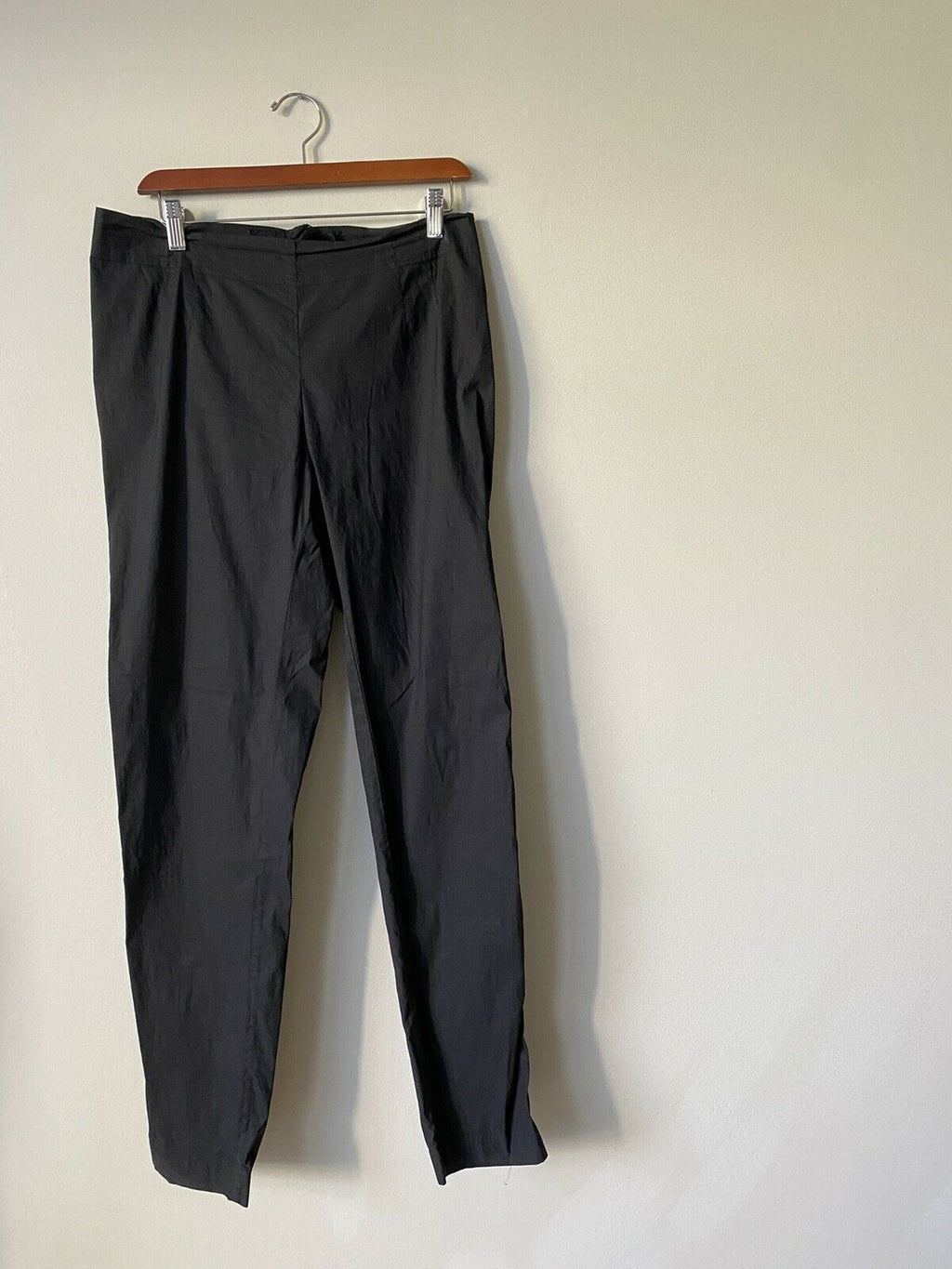 Rundholz Black Label Women's Large Black Trousers Stretch German Designer Pants