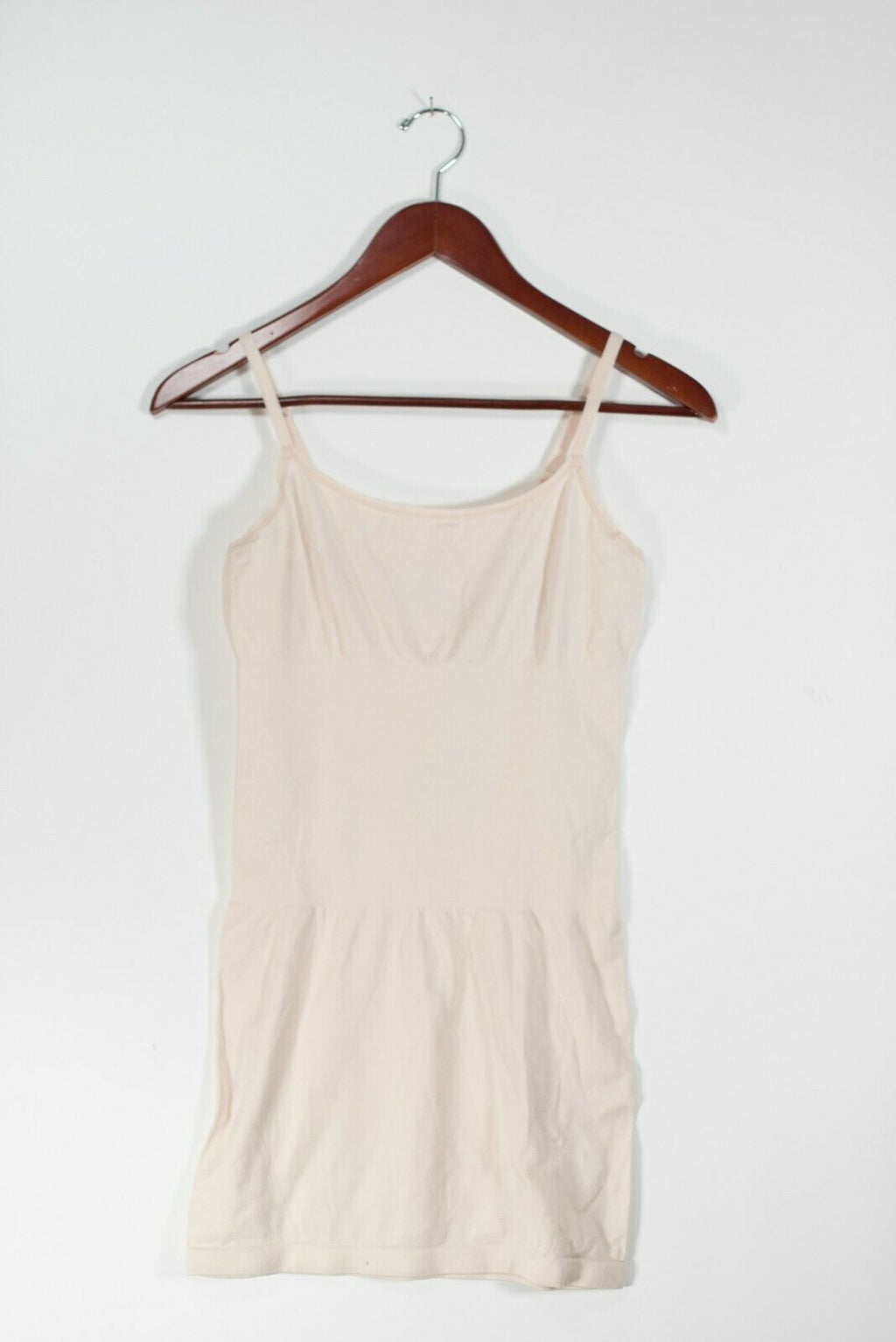 Yummie Heather Thompson Womens Size M/L Beige Tank Top Waist Control Stretch Tee