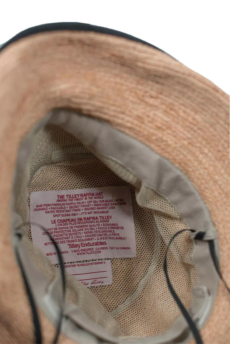 Tilley Brown Rebecca Water Resistant SPF 50 Hat
