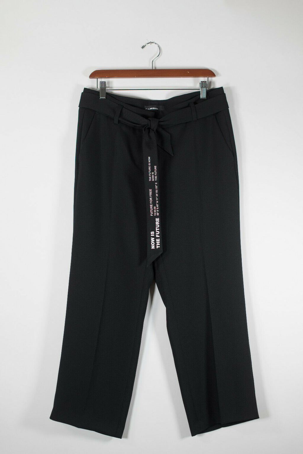 Cambio Womens Size 8 Black Pants Claire Dress Pants The Future Is Now Trousers