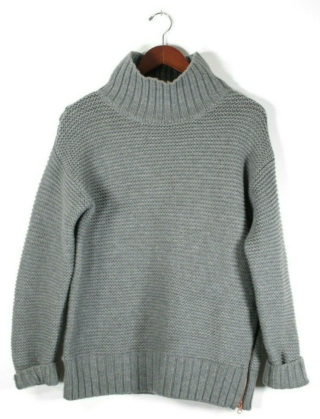 Lululemon Karma Kurmasana Size 6 Heathered Grey Sweater