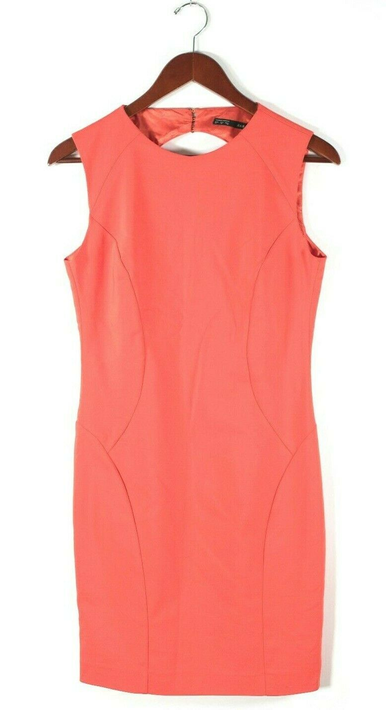 Zara Medium Orange Trumpet Dress