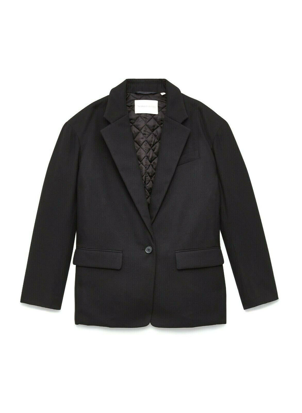 Aritzia The Group by Babaton Womens Size 2 Medium Black Blazer Demings Jacket