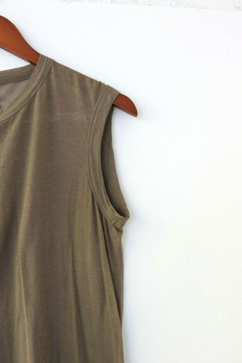 Rick Owens Womens Large Brown Tee