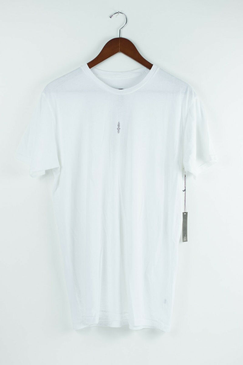 EFU Richard Kidd Unisex Medium White Tee Shirt Top 2 Close Graphic Print NWT