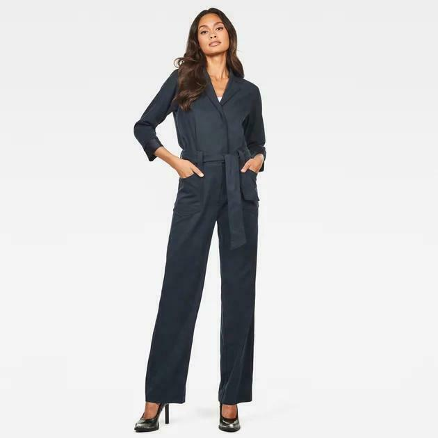 G-Star Raw Size XS Mazarine Blue Workwear PJ Jumpsuit NWT