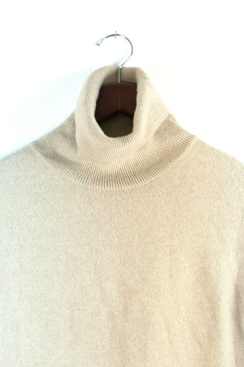 Fabiana Fililppi Womens 48 XL Sweater Wool Cashmere Turtleneck Tee Pullover Top