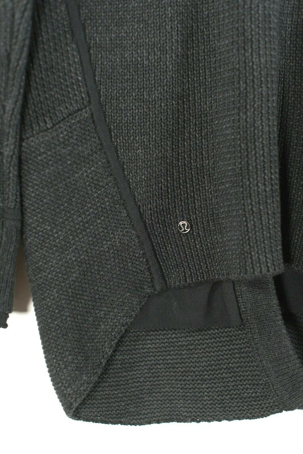 Lululemon 6 8 Grey Post Practice Cardigan Sweater