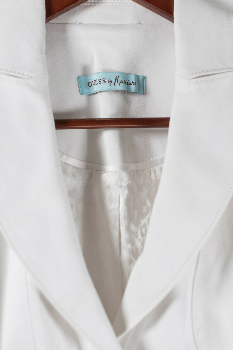 Guess by Marciano Womens XS White Jacket Blazer