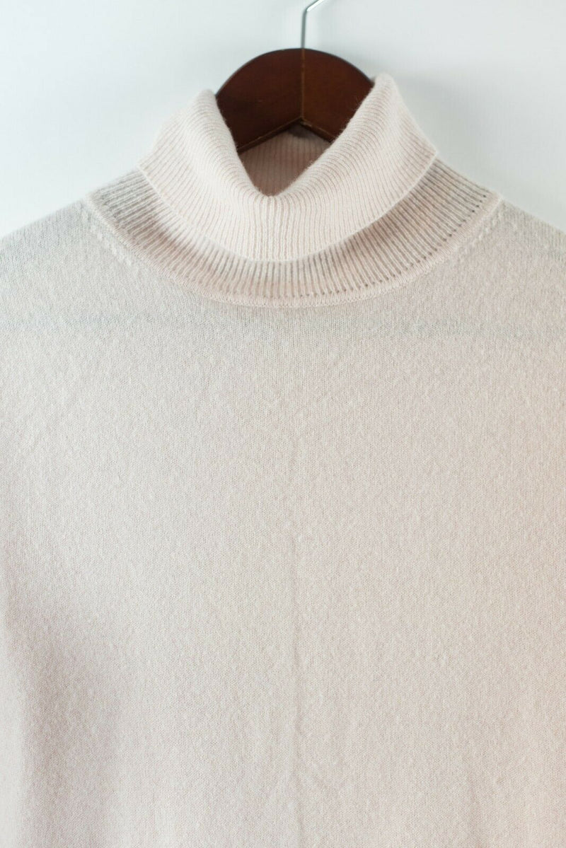 Black Goat Cashmere Womens  Size XS Pink Turtleneck Cashmere Long Sleeve Sweater