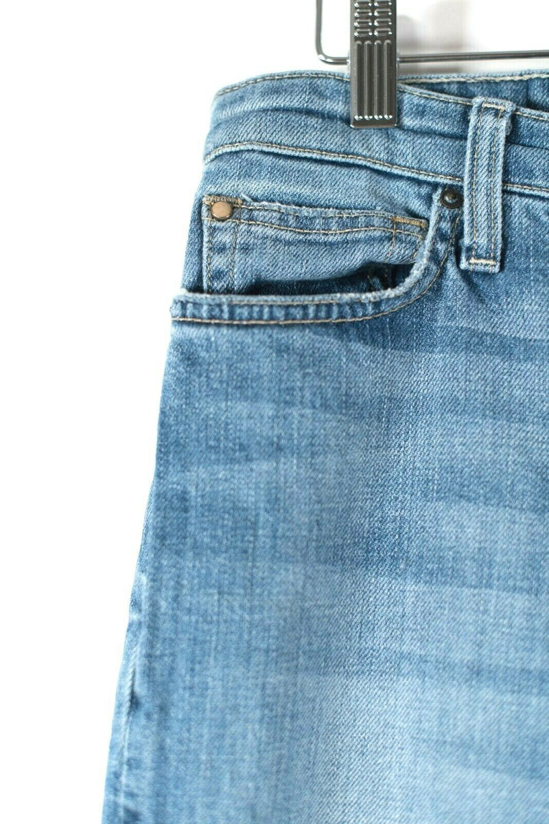 Joe's Jeans Womens Size 30 Medium Blue Jeans High Rise Fade Straight Ankle Denim