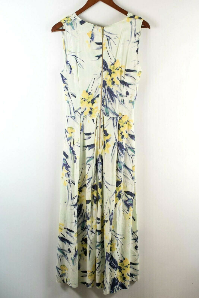 Closet London Womens Size 8 Mint Purple Dress Floral Midi NWT