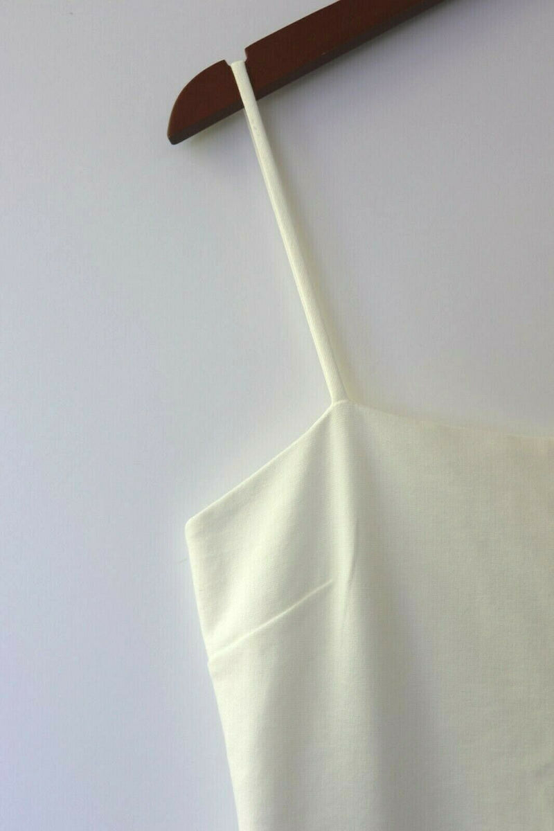 Lulus Womens Large White Short Slip Dress NWT