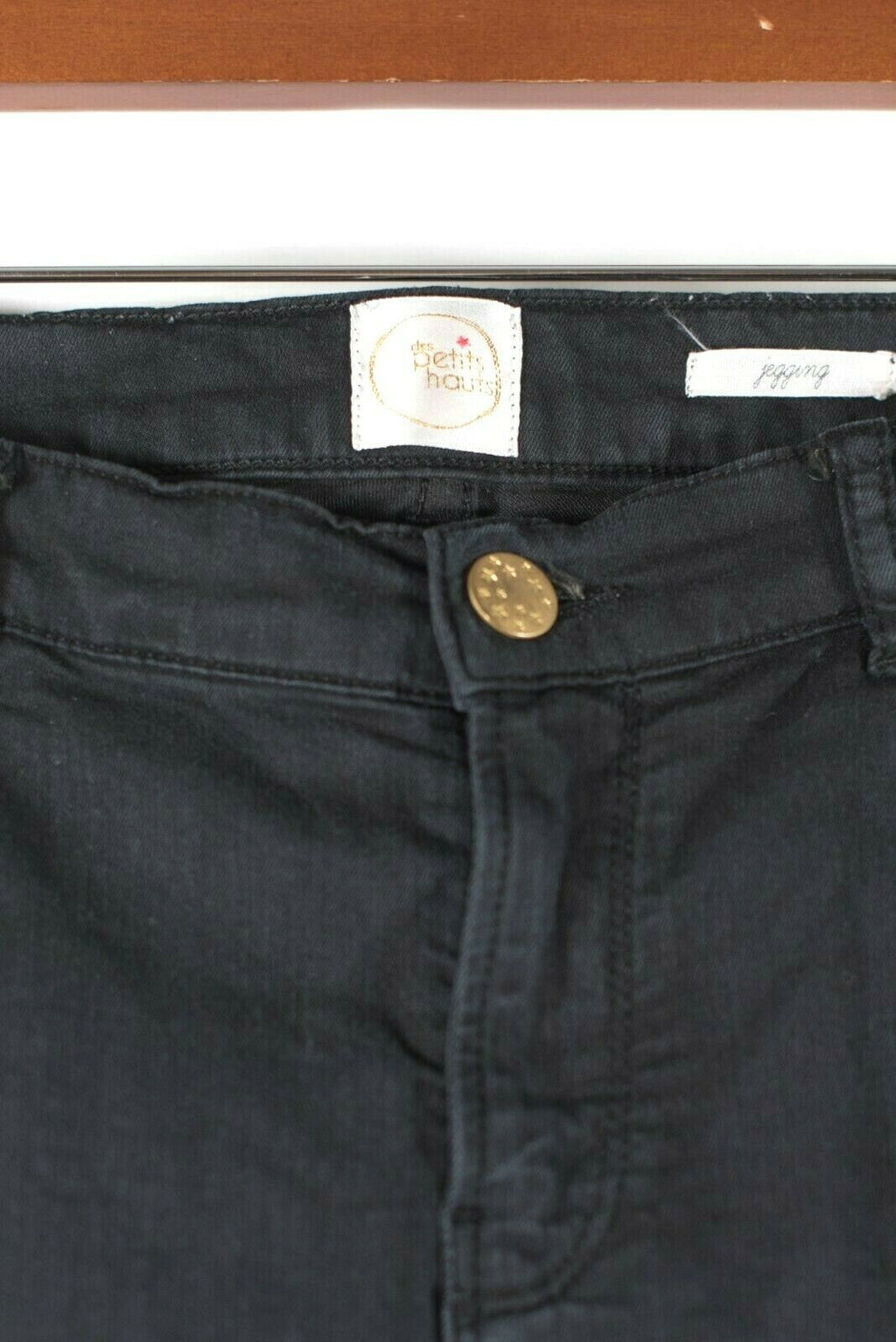 Anthropologie Des Petits Hauts Womens Size 29 Medium Black Skinny Jegging Pants