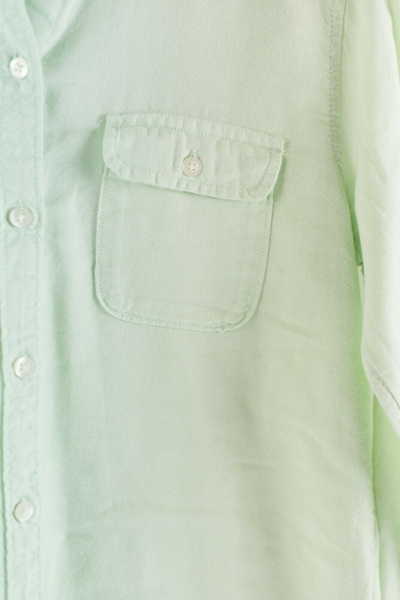 BDG Urban Outfitters Womens Size Small Mint Green Button Down Shirt Blouse Top
