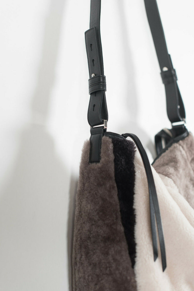 Allsaints Brown Multicolor Crossbody Kita Bag