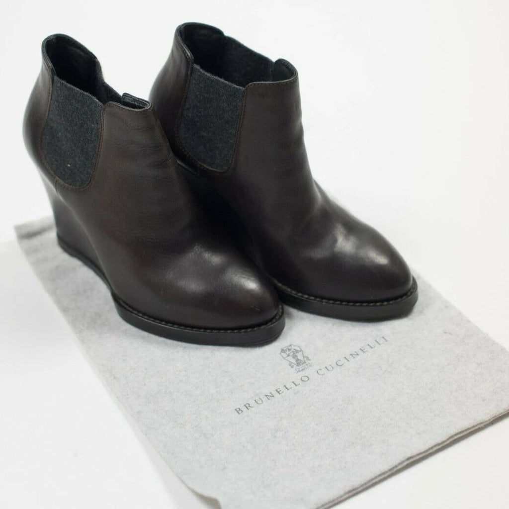 Brunello Cucinelli Ankle Boots Size 37