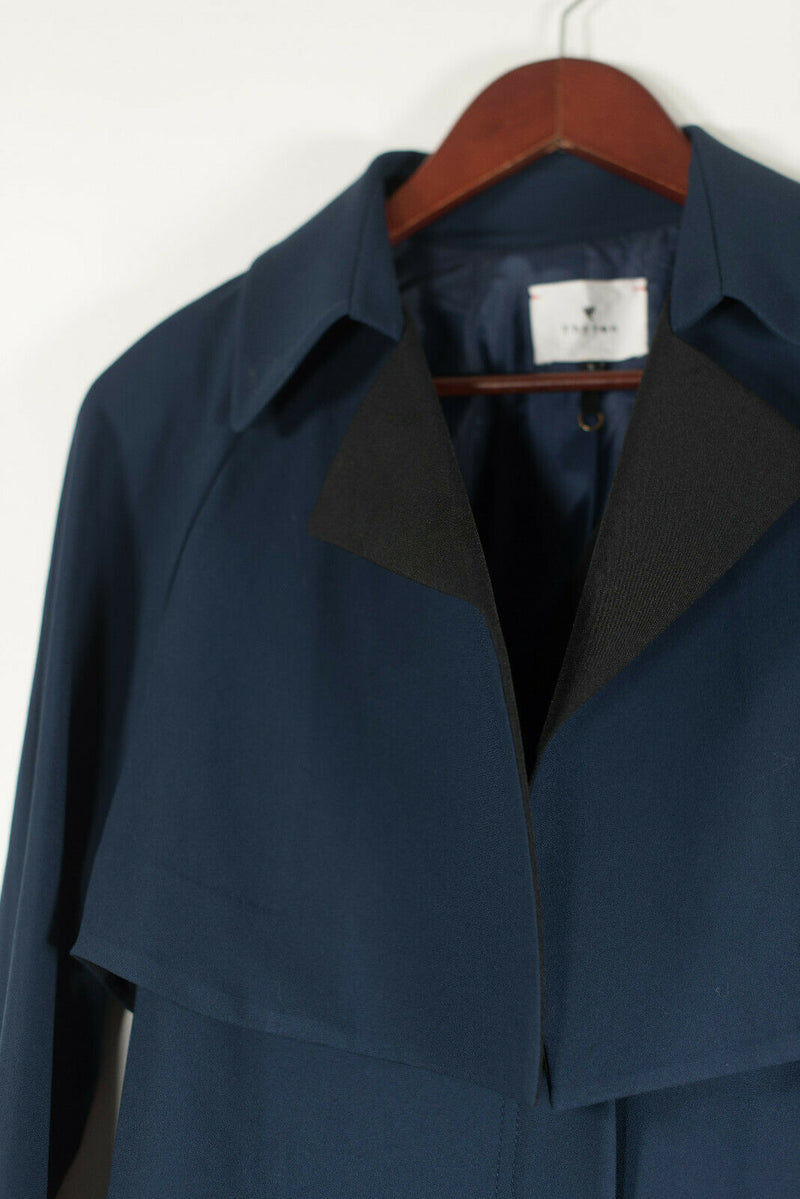 Thyren Small Navy Blue Jacket With Removable Vest
