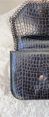 Stella McCartney Black Falabella Box Crossbody Bag