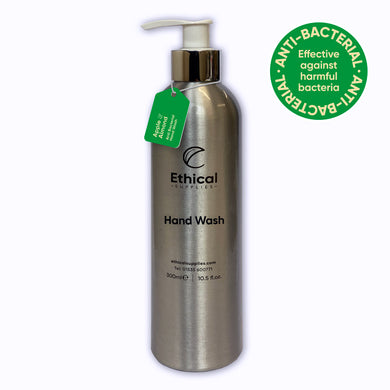 Anti-Bacterial Hand Wash - 300ml Reusable Aluminium Bottle