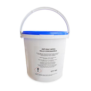 Power House - Anti-Viral Wipes - Bucket of 500 (Kills Coronavirus)