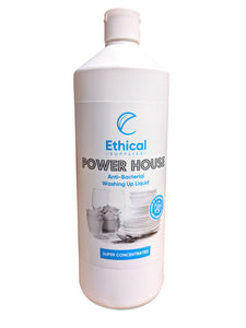 Power House Anti Bacterial Washing Up Liquid - 1 Litre