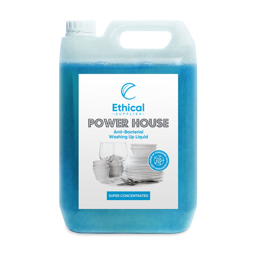 Power House Anti Bacterial Washing Up Liquid - 5 Litre